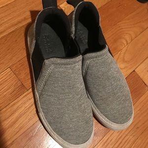 Zara Grey Slip-On Sneakers - size 38